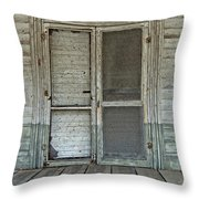 Historic Portal Throw Pillow