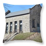 Historic Power Throw Pillow