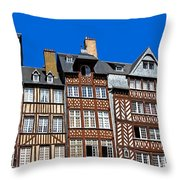 Historic Rennes Throw Pillow by Jane Rix