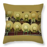 Historic Shademakers Throw Pillow