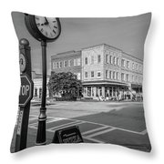 Historic Small Town In South Where Throw Pillow