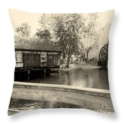 Historic Smithville Throw Pillow