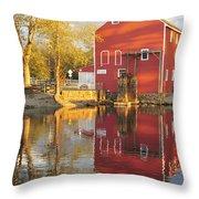 Historic Smithville Shop New Jersey Throw Pillow