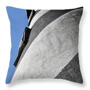 Historic St Augustine Lighthouse Throw Pillow by Christine Till