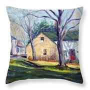 Historic Stone Throw Pillow