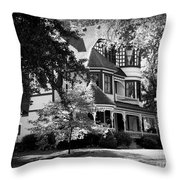 Historic Victorian Home Throw Pillow