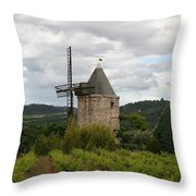 Historic Windmill Throw Pillow