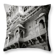 The History Of Rajasthan Throw Pillow
