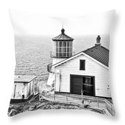 Historical Light Throw Pillow