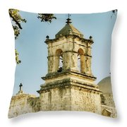 Historical Mission Throw Pillow
