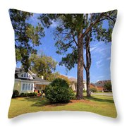 Historical Museum Throw Pillow