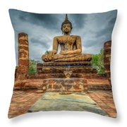 Historical Park Throw Pillow