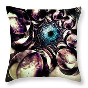Historical Perspective Throw Pillow