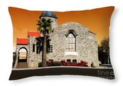 Historical Society  Museum Throw Pillow