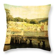 Historical Waters Throw Pillow
