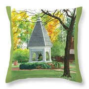History And Tradition Throw Pillow