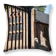 History Beyond The Gate  Throw Pillow