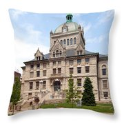 History Center Lexington Kentucky Throw Pillow