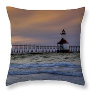 History In Action Throw Pillow