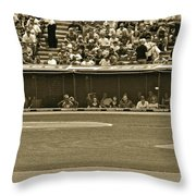 Hit And Run Throw Pillow