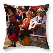 Hither Dither And Yon Throw Pillow