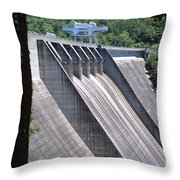 Hiwassee Dam 1 Throw Pillow