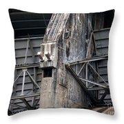 Hiwassee Dam 2 Throw Pillow