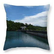 Hiwassee Dam 3 Throw Pillow