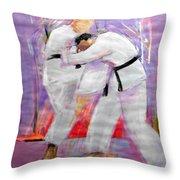 Hizageri Throw Pillow