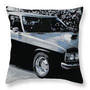 Hj Holden Ute Throw Pillow