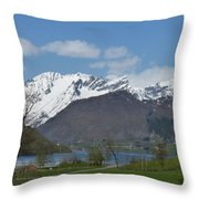 Hjorundfjord Throw Pillow