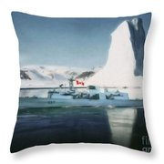 Hmcs Fredericton V2 By Shawna Mac Throw Pillow