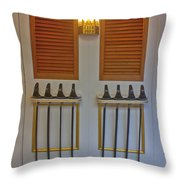 Hms Warrior Cutlasses Throw Pillow
