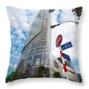 Ho Chi Minh City - Bitexco Financial Tower  Throw Pillow