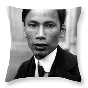 Ho Chi Minh In 1921 Throw Pillow