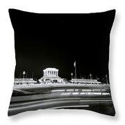 Ho Chi Minh Mausoleum In Hanoi Throw Pillow