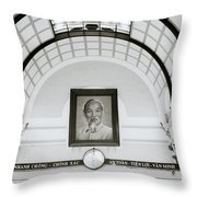 Ho Chi Minh Throw Pillow