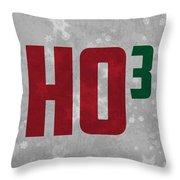 Ho Ho Ho Have A Very Nerdy Christmas Throw Pillow