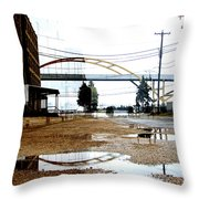 Hoan And Warehouse 2 Throw Pillow