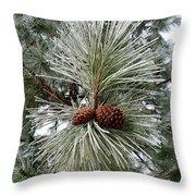 Hoarfrost 1 Throw Pillow