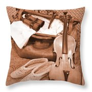 Hobbies Ready For Travel Throw Pillow
