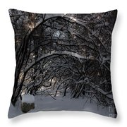 Hobbit Stump Throw Pillow
