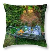 Hobbit Vegetables Throw Pillow
