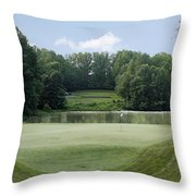 Hobbits Glen - Signature 11th Hole Throw Pillow