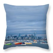 Hobsons Bay Throw Pillow