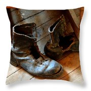 Hoe Down Throw Pillow