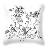 Hoedown Throw Pillow