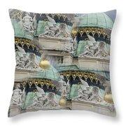 Hofburg Palace Dome Throw Pillow