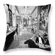 Hoffman House Bar Throw Pillow