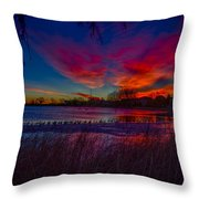 Hoffman Lake Throw Pillow
